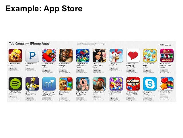 Example: App Store