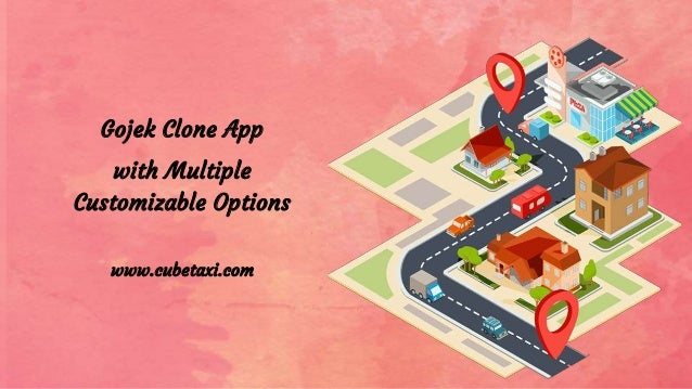 Gojek Clone App with Multiple Customizable Options www.cubetaxi.com