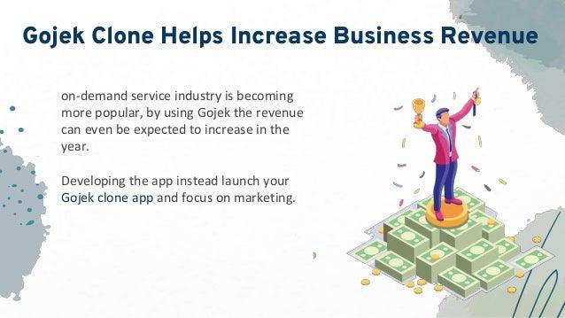 Gojek Clone Helps Increase Business Revenue on-demand service industry is becoming more popular, by using Gojek the revenu...