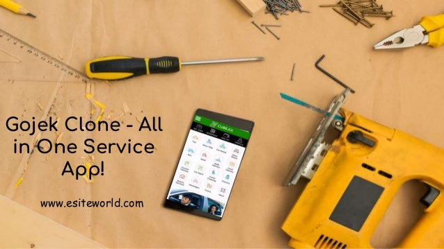 Gojek Clone - All in One Service App! www.esiteworld.com