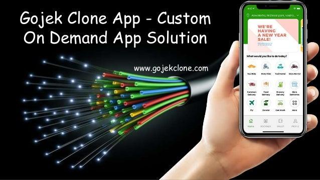 Gojek Clone App - Custom On Demand App Solution www.gojekclone.com
