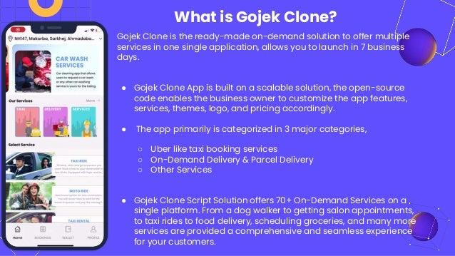 Gojek Clone App Development in Thailand Slide 2