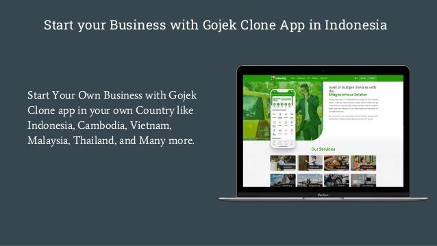 Start your Business with Gojek Clone App in Indonesia Start Your Own Business with Gojek Clone app in your own Country lik...