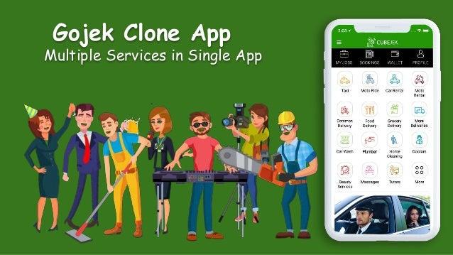 Gojek Clone App Multiple Services in Single App