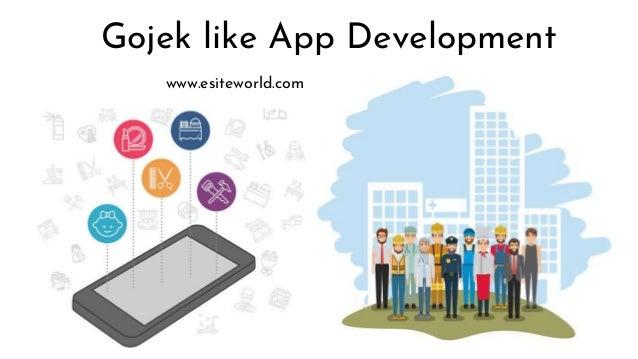 Gojek like App Development www.esiteworld.com