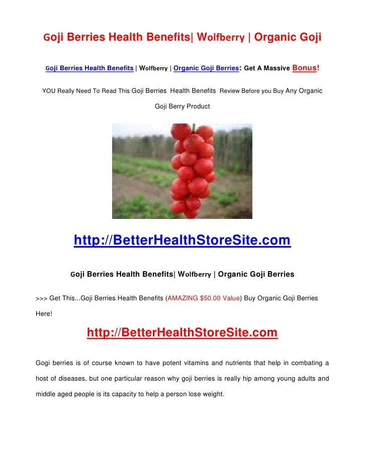 Goji Berries Health Benefits| Wolfberry | Organic Goji     Goji Berries Health Benefits | Wolfberry | Organic Goji Berries...