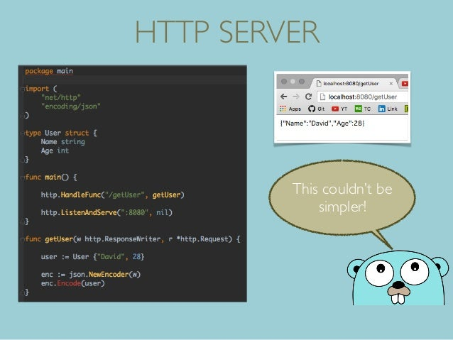 HTTP SERVER This couldn't be simpler!