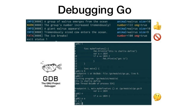 Debugging Go in Kubernetes