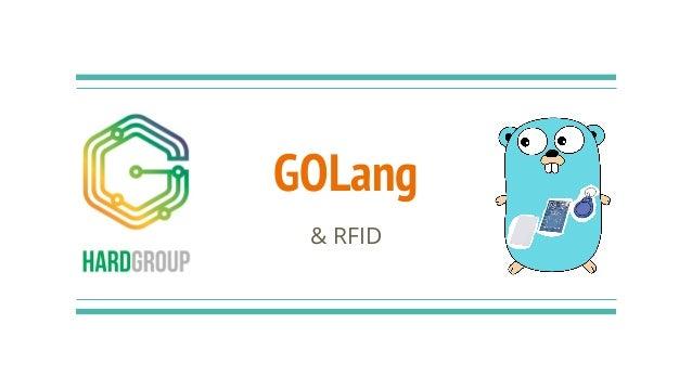 GOLang & RFID