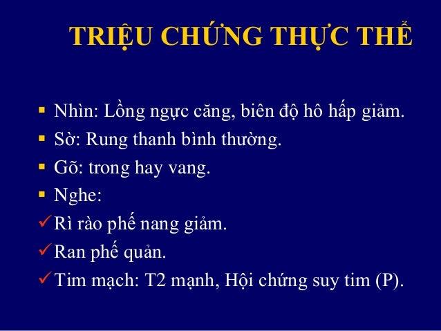 CẬN LÂM SÀNG  Xquang ngực:
