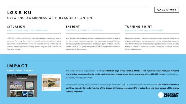 CJ Media Case Study | Utility Company Branded Content