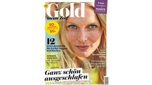 """""""Gold meine Zeit!"""" im August"""