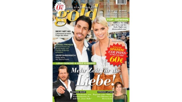 gold im August – DAS STAR-MAGAZIN