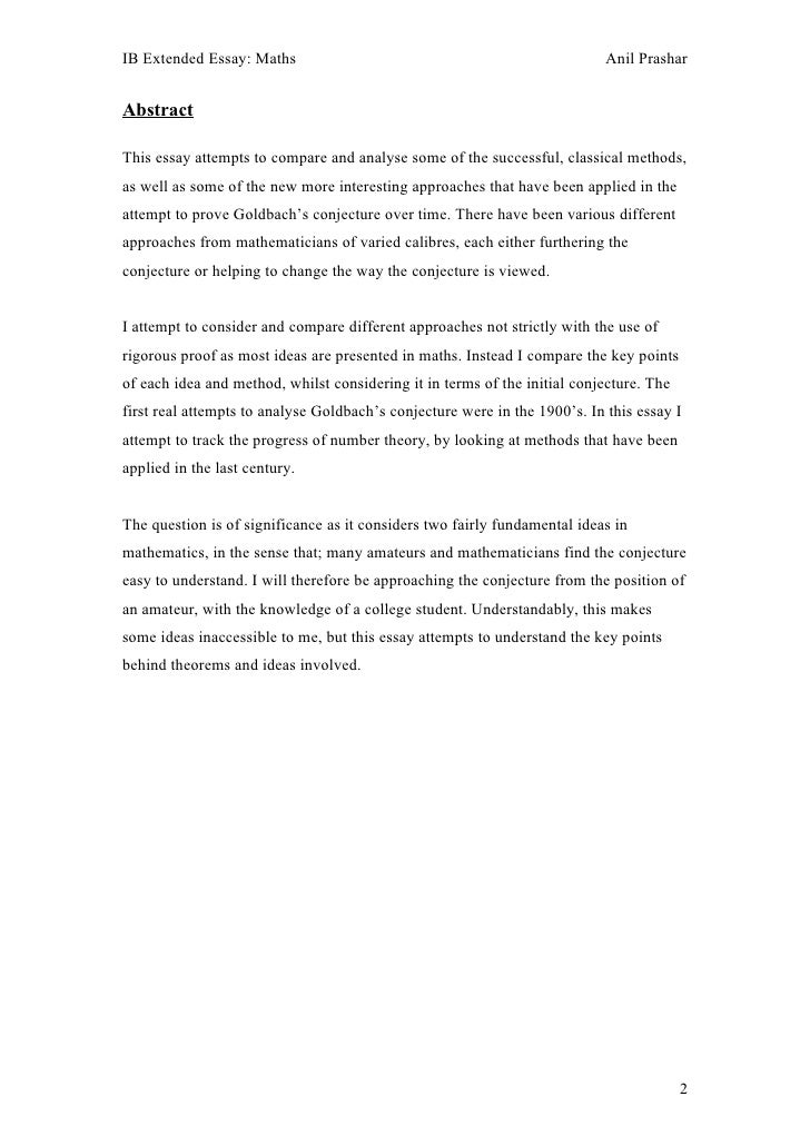 extended essay abstract word count Extended essay the extended essay is an independent, self-directed piece of research, finishing with a 4,000-word paper.