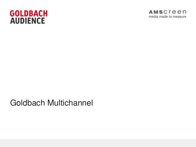 Goldbach Multichannel