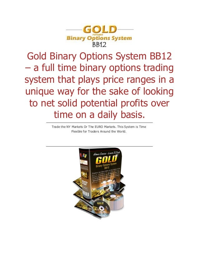 Binary options system that works