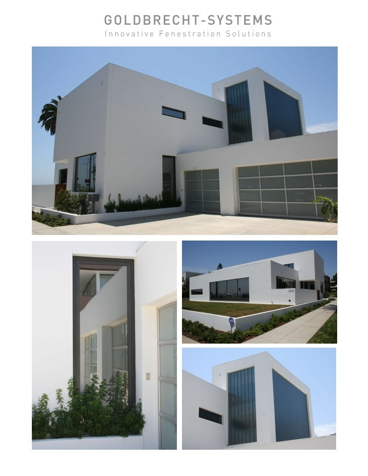 Goldbrecht All Aluminum Projects (10 Pg) Slide 3