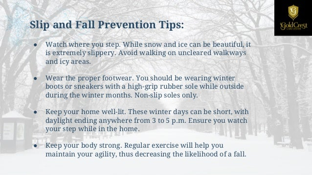 Staying Safe In A Winter Wonderland A Guide For Seniors