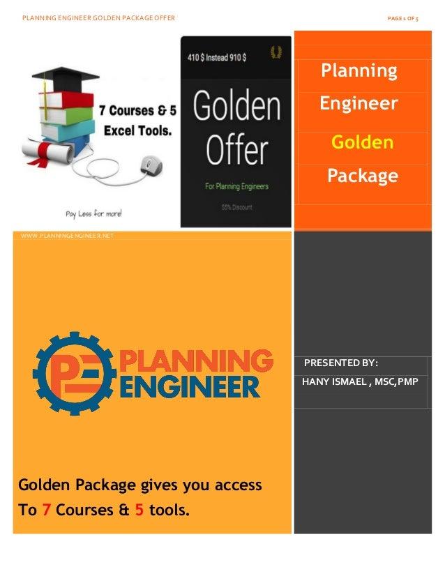 Planning engineer net