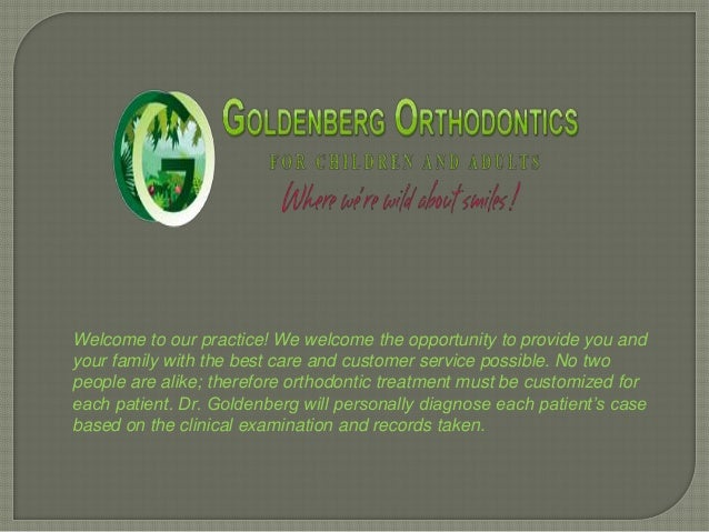 Welcome to our practice! We welcome the opportunity to provide you andyour family with the best care and customer service ...