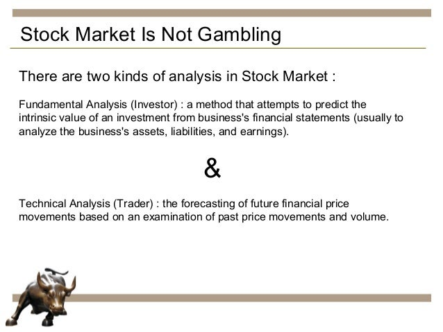Stock market gambling not red rock casino hotel review