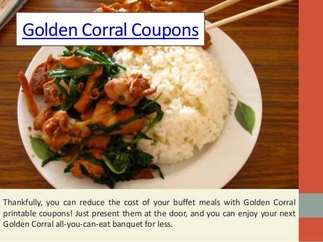 photograph about Golden Corral Printable Coupons titled Golden Corral Discount codes