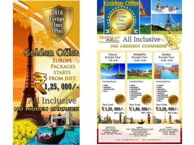 Golden Europe Tour Packages Trawelmart 2