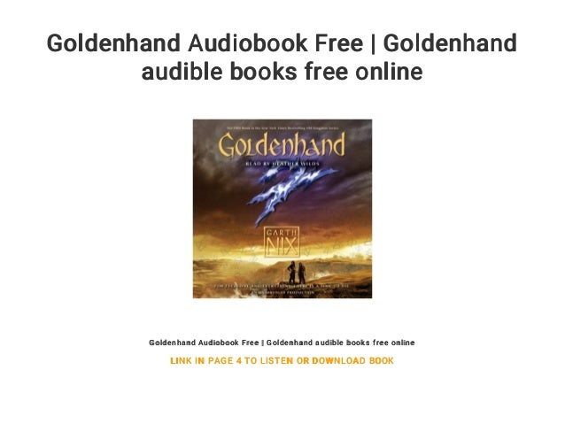 Goldenhand Audiobook Free | Goldenhand audible books free online Goldenhand Audiobook Free | Goldenhand audible books free...