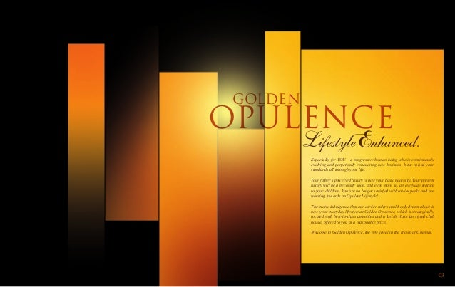 Golden opulence - Affordable Lifestyle Apartments at