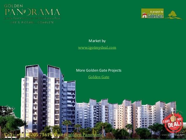 Golden Panorama At Kanakapura Road Bangalore Price