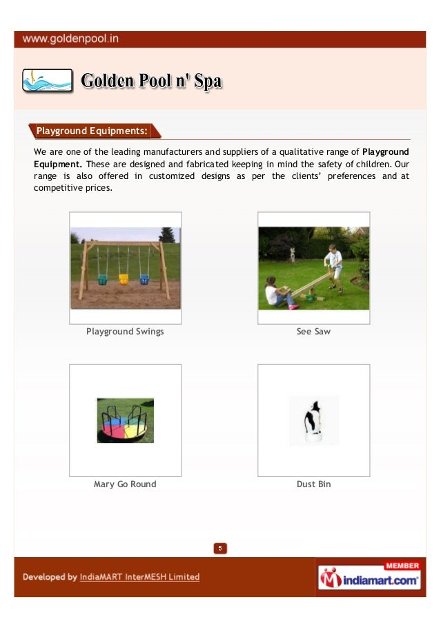 Playground Equipments:We are one of the leading manufacturers and suppliers of a qualitative range of PlaygroundEquipment....
