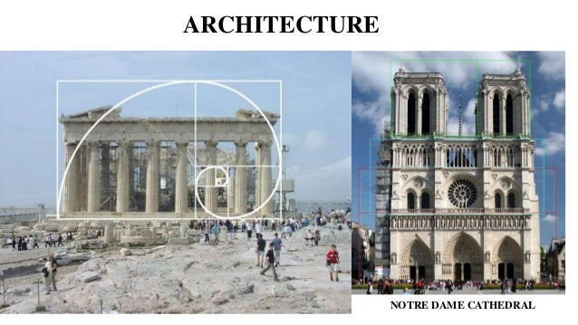 Modern Architecture Golden Ratio the golden ratio