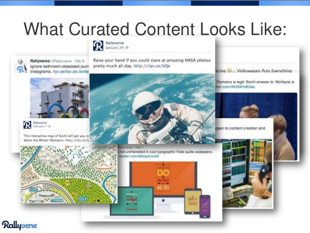 What Curated Content Looks Like: