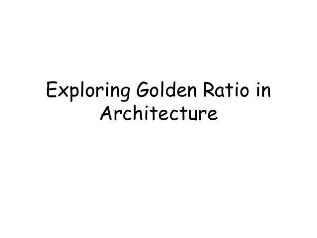 golden ratio in architecture. Black Bedroom Furniture Sets. Home Design Ideas