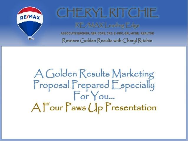 Golden Results Maryland Real Estate Seller Marketing Plan Slide 2