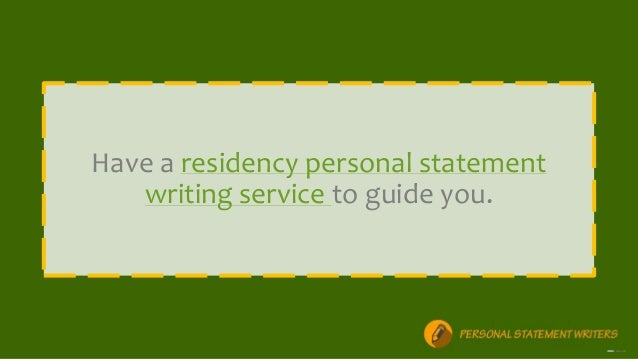 Residency Personal Statement Length