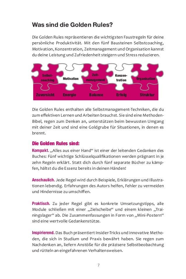 Selbst coaching Konzen tration Organisation Zeit- management Zuversicht Energie Balance Erfolg Struktur Was sind die...