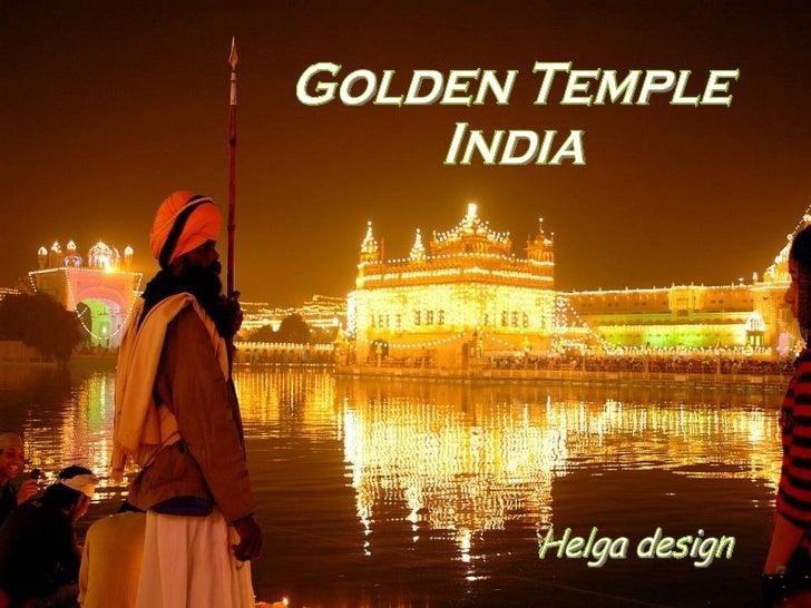 Helga design Golden Temple  India