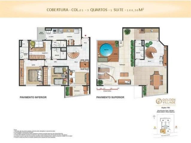 COBERTURA - COLS.0 5/0 6 - a QUARTOS - 1 REVERSíVEL - 1 SUíTE - 1 53,68 M2  . . 'LI : r: ; rx m',  .iu f' . .a     PAVIMEN...