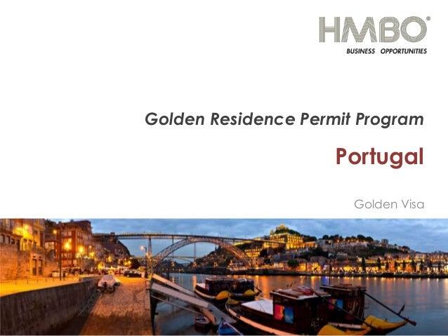 Golden Residence Permit Program  Portugal Golden Visa