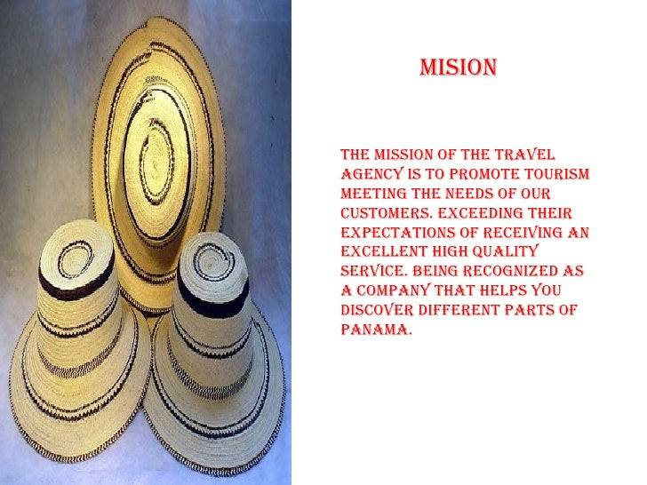 MISIOnTHe MISSIOn OF THe Travelagency IS TO prOMOTe TOUrISMMeeTIng THe neeDS OF OUrcUSTOMerS. exceeDIng THeIrexpecTaTIOnS ...