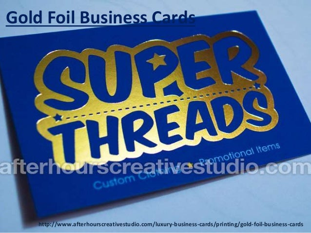 Cheap gold foil business cards printing gold foil business cards httpafterhourscreativestudioluxury colourmoves