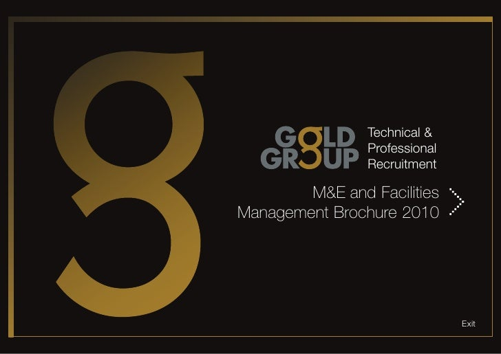 Technical &                 Professional                 Recruitment          M&E and Facilities Management Brochure 2010 ...