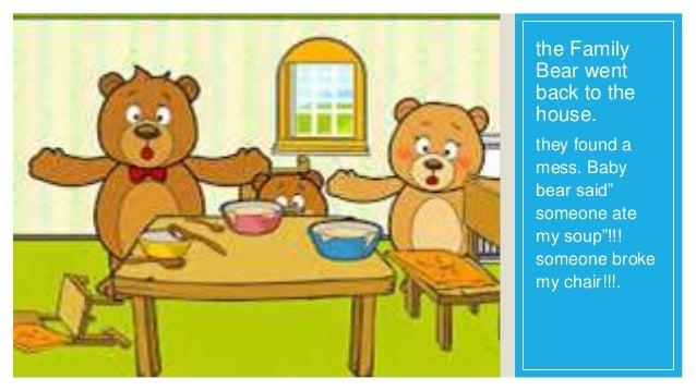 goldilocks and the three bears short story pdf
