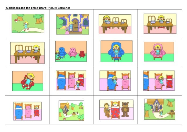 Goldilocks and three bear STORY & collaborative activity