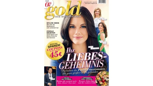 gold im April 2015 – das STAR-MAGAZIN von Netto Marken-Discount