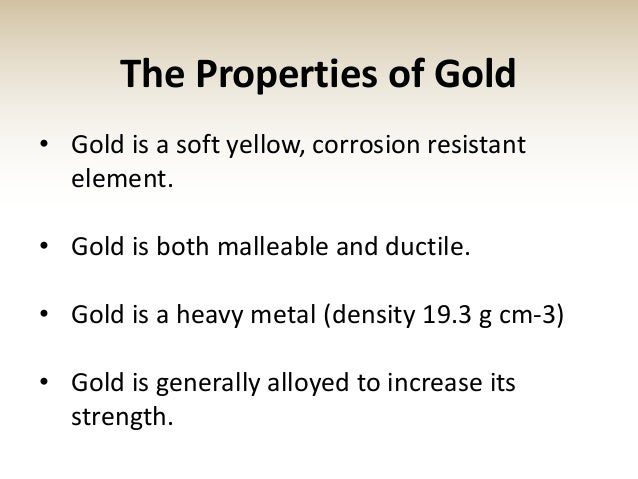 Capital Gold Group, Inc. Gold Presentation