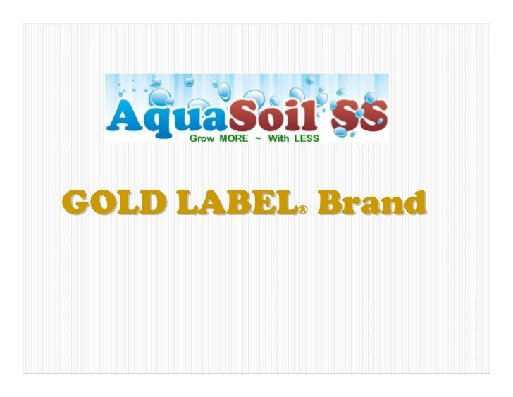 GOLD LABEL Brand          ®