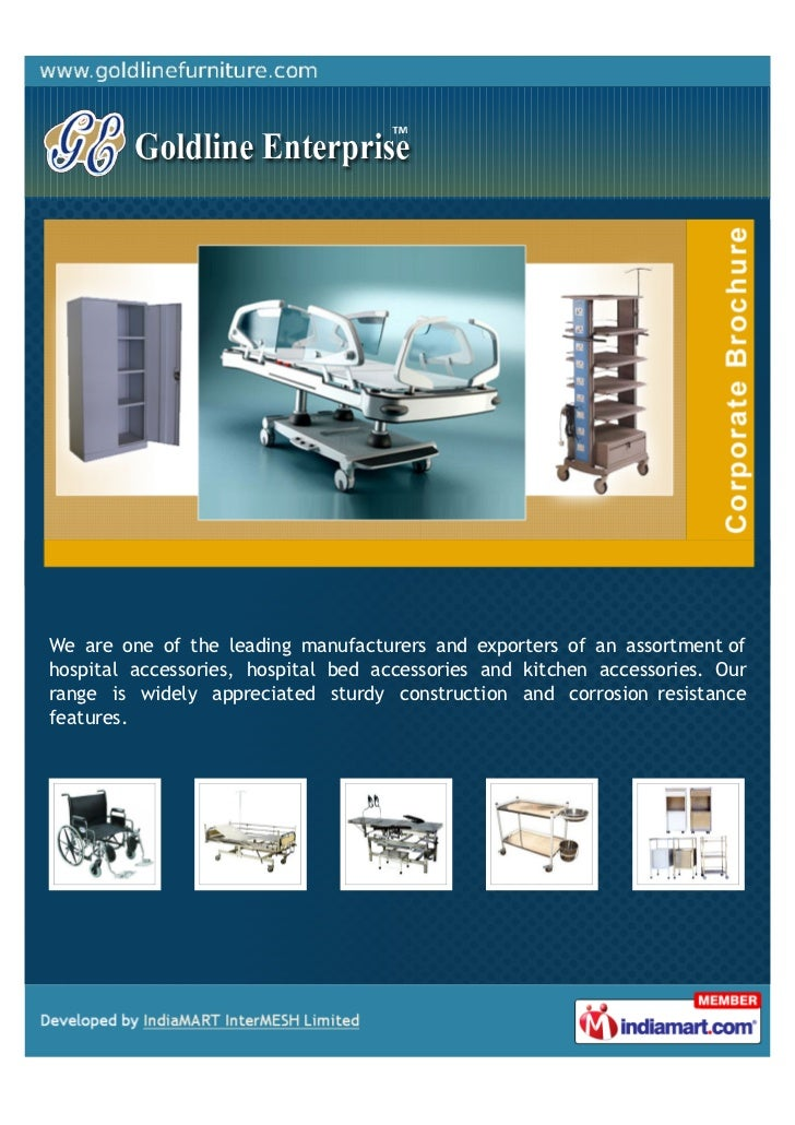 We are one of the leading manufacturers and exporters of an assortment ofhospital accessories, hospital bed accessories an...