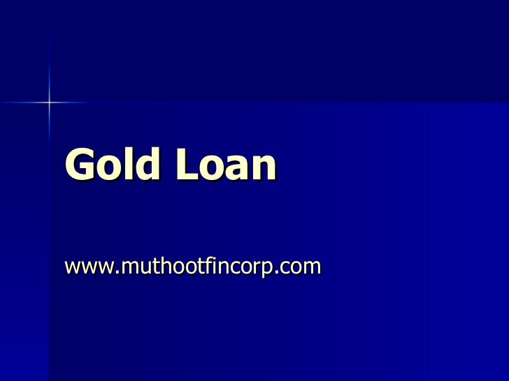 Muthoot Finance Home Loan Interest Rate